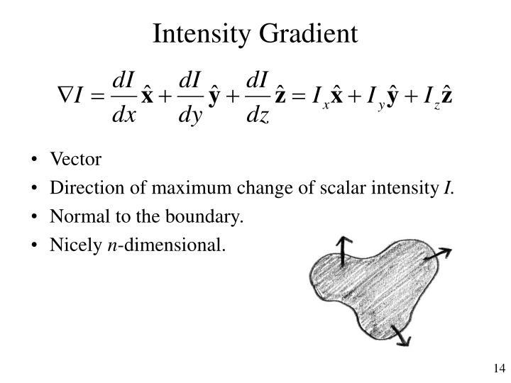 Intensity Gradient