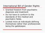 international bill of gender rights