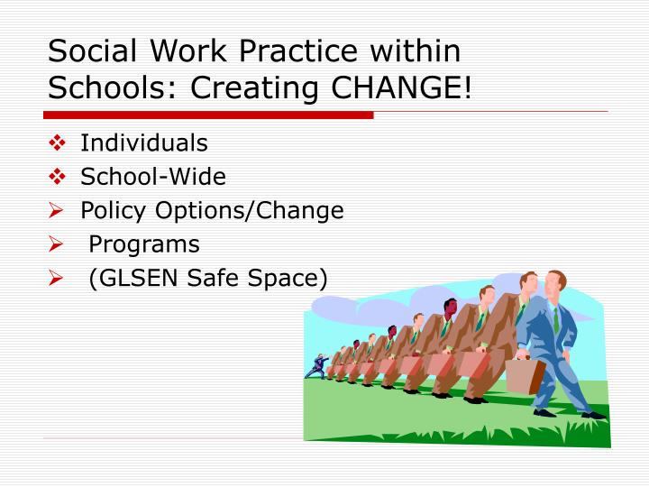 Social Work Practice within Schools: Creating CHANGE!