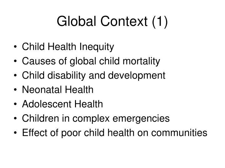 Global Context (1)