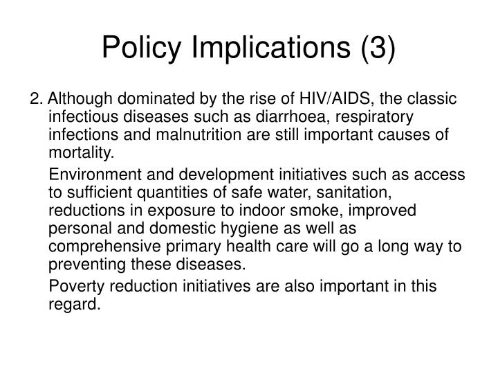 Policy Implications (3)