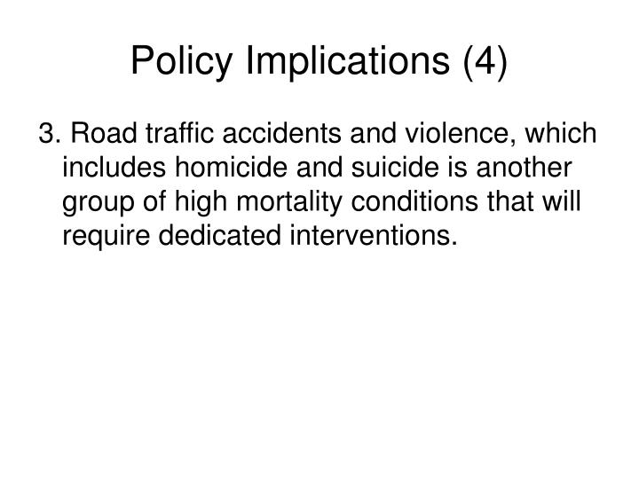 Policy Implications (4)