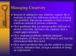 managing creativity1