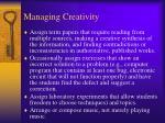 managing creativity2