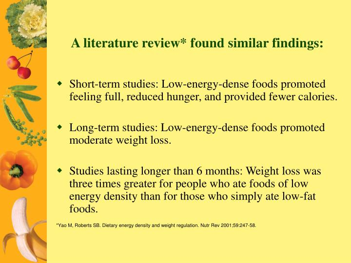 A literature review* found similar findings: