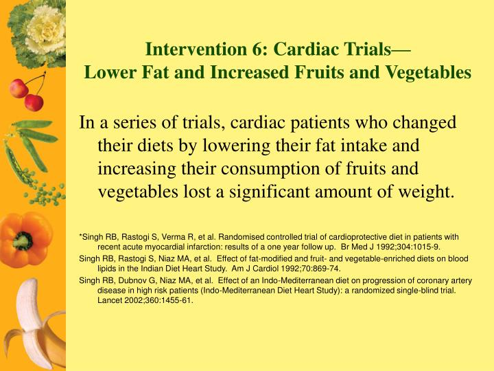 Intervention 6: Cardiac Trials—