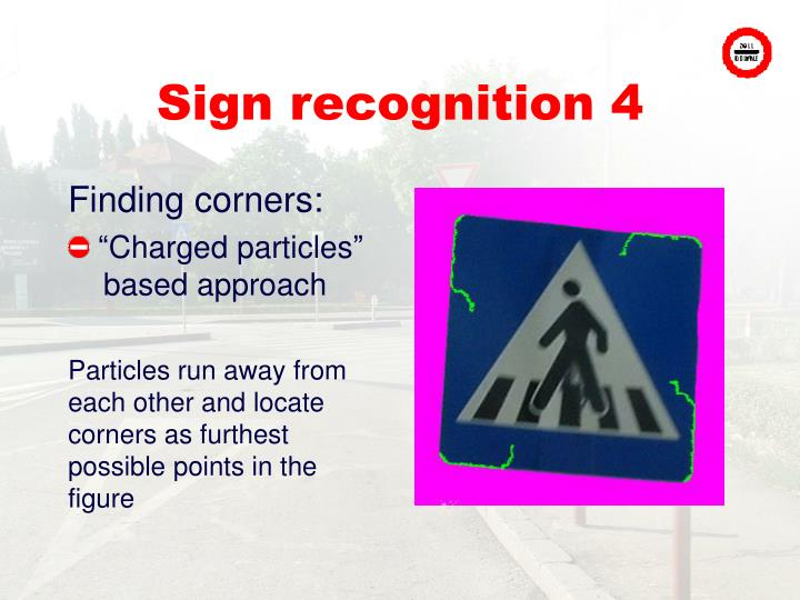 Sign recognition 4