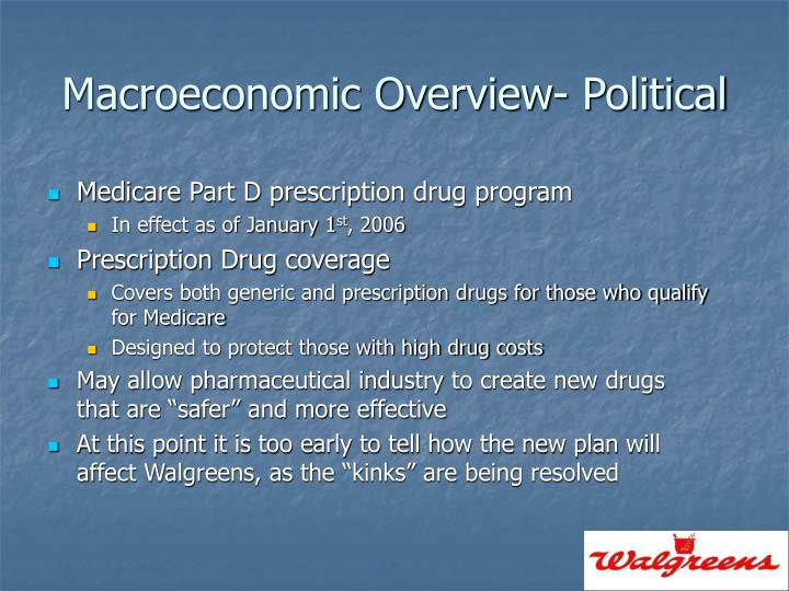 Macroeconomic Overview- Political