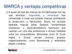 marca y ventajas competitivas15