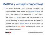 marca y ventajas competitivas16