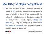 marca y ventajas competitivas17
