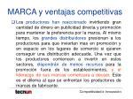 marca y ventajas competitivas20