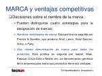 marca y ventajas competitivas24