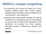 marca y ventajas competitivas7