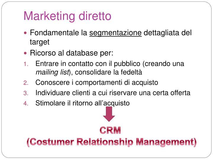 Marketing diretto