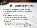 tc electrical systems1