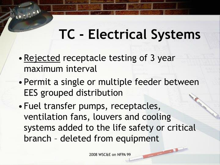 TC - Electrical Systems