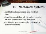 tc mechanical systems