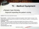 tc medical equipment