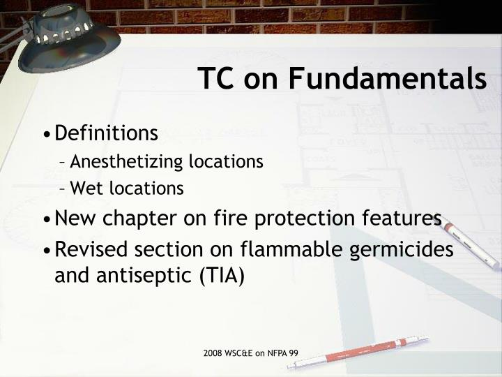 TC on Fundamentals