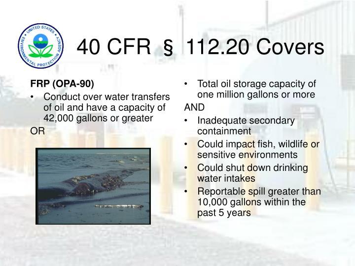 FRP (OPA-90)