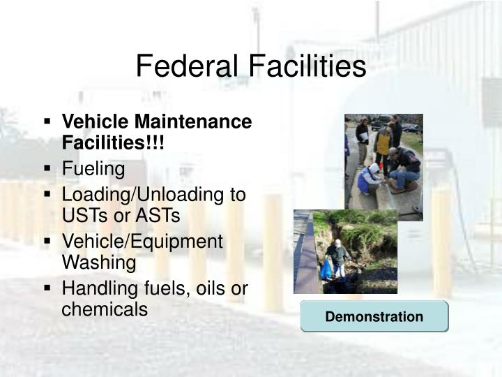 Federal Facilities