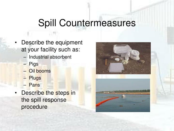 Spill Countermeasures