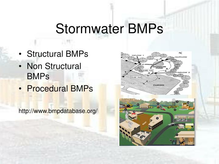 Stormwater BMPs