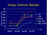 group cotinine booster
