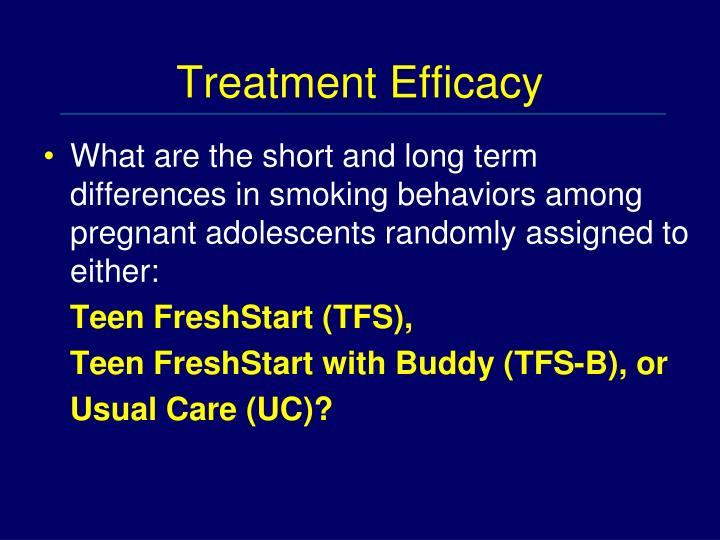 Treatment Efficacy