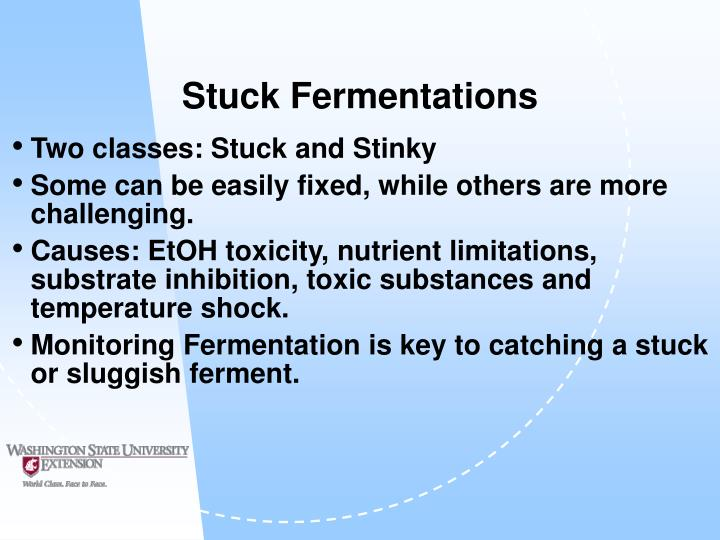 Stuck Fermentations