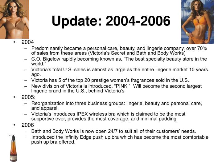 Update: 2004-2006