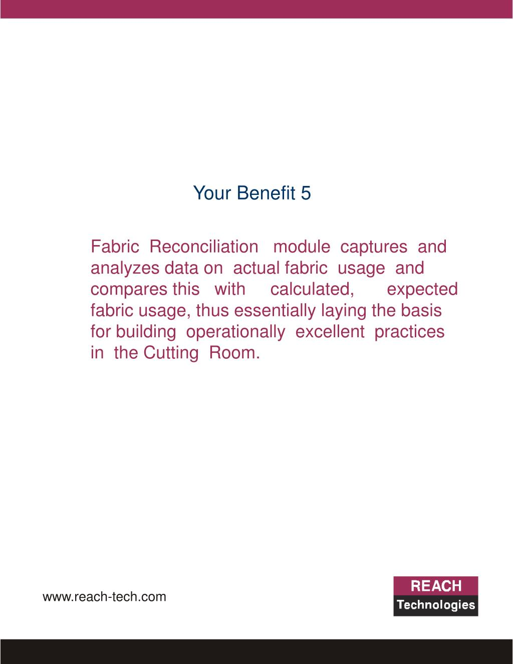 Your Benefit 5