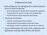 predictions for paas