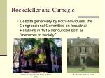 rockefeller and carnegie