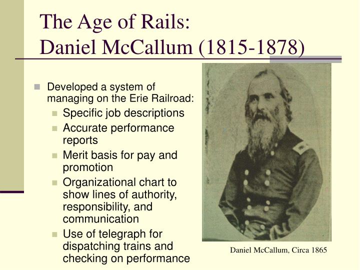 The Age of Rails: