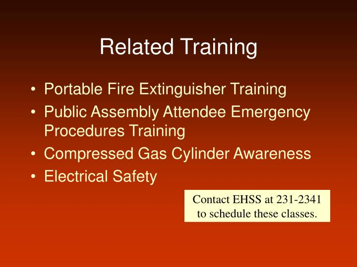 Related Training