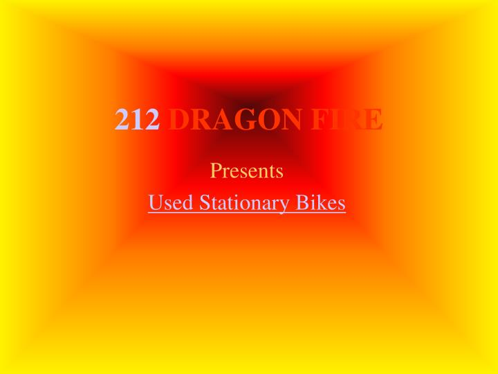 212 dragon fire