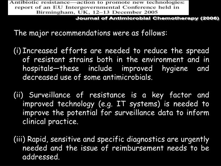 Journal of Antimicrobial Chemotherapy (2006)