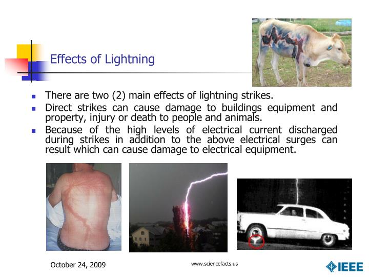 Effects of Lightning