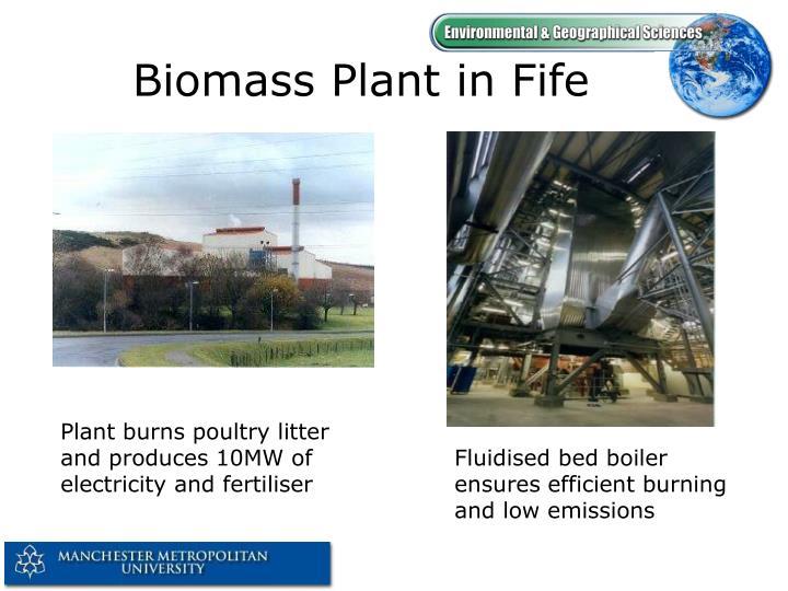 Biomass Plant in Fife