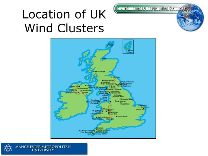 Location of UK