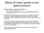 effects of india s growth on the global economy1