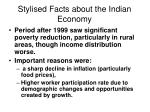 stylised facts about the indian economy1