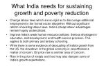 what india needs for sustaining growth and poverty reduction1