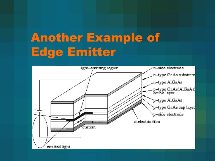 Another Example of Edge Emitter