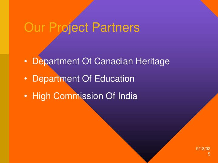 Our Project Partners