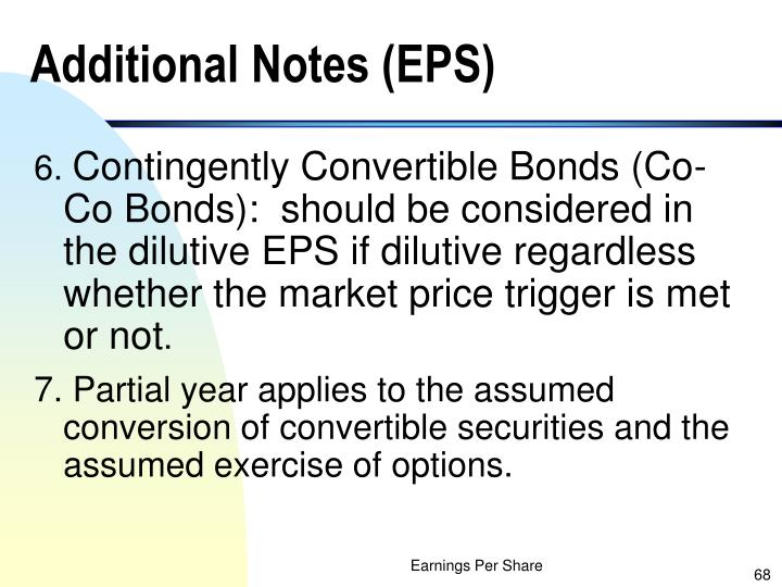 Additional Notes (EPS)