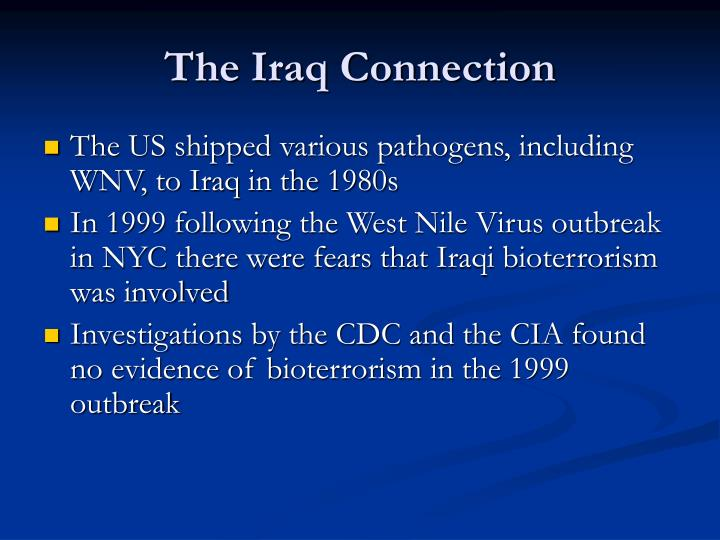 The Iraq Connection