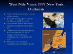 west nile virus 1999 new york outbreak